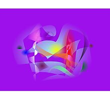 Small World Purple  Photographic Print