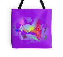 Small World Purple  Tote Bag