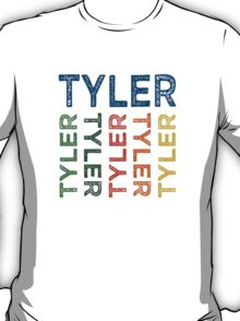 Tyler Cute Colorful T-Shirt