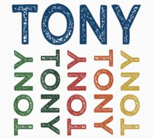 Tony Cute Colorful by Wordy Type