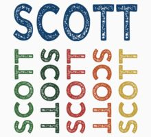 Scott Cute Colorful by Wordy Type