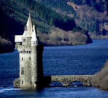 Lake Vrynwy Tower by Care Johnson