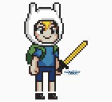 Finn the Human Pixel by geekmythology