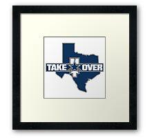 TakeOver - Dallas Framed Print