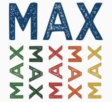 Max Cute Colorful by Wordy Type