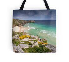 Cornwall - Atlantic Blues Tote Bag