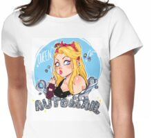 Queen of Automail Womens Fitted T-Shirt