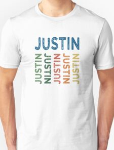 Justin Cute Colorful T-Shirt