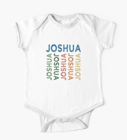 Joshua Cute Colorful One Piece - Short Sleeve