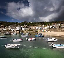 Cornwall - Mousehole Summer by Angie Latham
