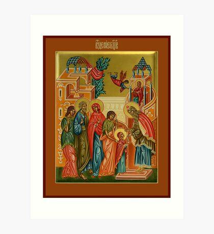 The Presentation of Mary Art Print