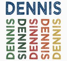 Dennis Cute Colorful Kids Tee
