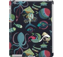 Fish market iPad Case/Skin