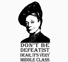 Don't be Defeatist Dear Womens Fitted T-Shirt