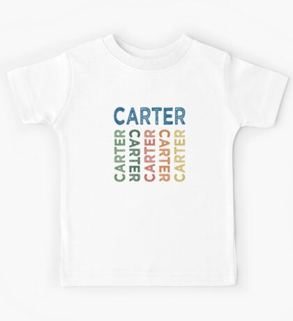 Carter Cute Colorful Kids Tee