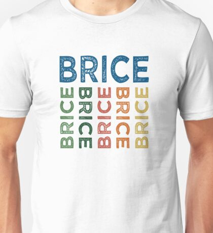 Brice Cute Colorful Unisex T-Shirt