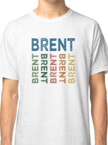 Brent Cute Colorful Classic T-Shirt