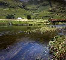 Scotland-Under the Mountain by Angie Latham