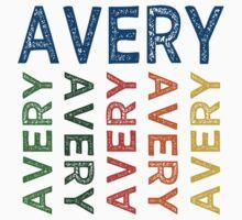 Avery Cute Colorful Kids Tee