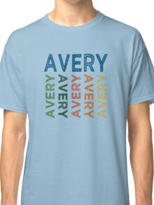 Avery Cute Colorful Classic T-Shirt