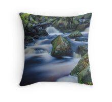 Mystical Burbage Brook Throw Pillow