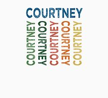 Courtney Cute Colorful Womens Fitted T-Shirt