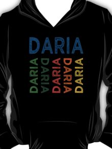 Daria Cute Colorful T-Shirt