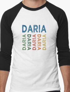 Daria Cute Colorful Men's Baseball ¾ T-Shirt
