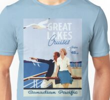 Vintage poster - Great Lakes Cruises Unisex T-Shirt