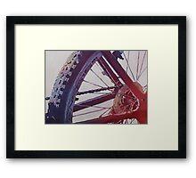 Heart of the Bike Framed Print