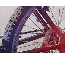 Heart of the Bike Photographic Print