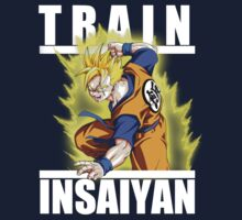 Train insaiyan - Future Gohan by Ali Gokalp