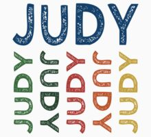 Judy Cute Colorful by Wordy Type