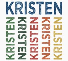 Kristen Cute Colorful by Wordy Type