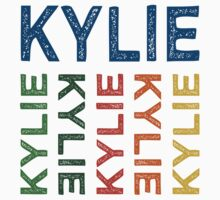 Kylie Cute Colorful by Wordy Type