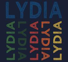 Lydia Cute Colorful Kids Tee