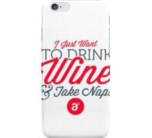 Drink Wine Case iPhone Case/Skin