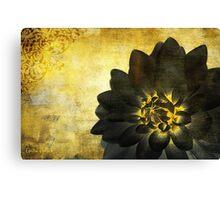 A Golden Heart Canvas Print