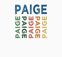 Paige Cute Colorful Womens Fitted T-Shirt