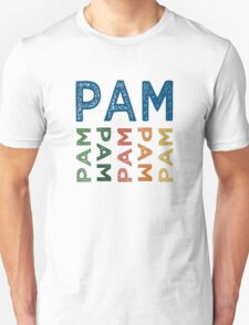 Pam Cute Colorful T-Shirt