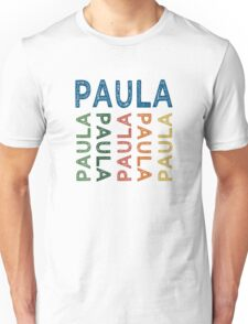 Paula Cute Colorful Unisex T-Shirt