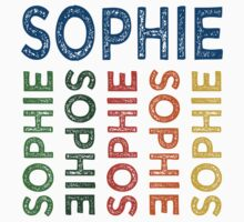 Sophie Cute Colorful by Wordy Type