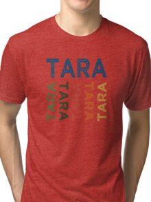 Tara Cute Colorful Tri-blend T-Shirt