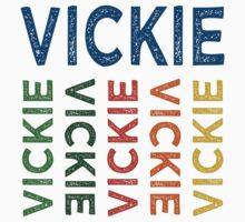 Vickie Cute Colorful by Wordy Type