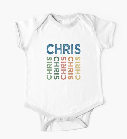 Chris Cute Colorful One Piece - Short Sleeve