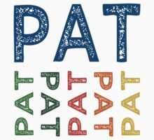 Pat Cute Colorful by Wordy Type