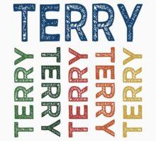 Terry Cute Colorful Kids Tee
