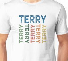 Terry Cute Colorful Unisex T-Shirt