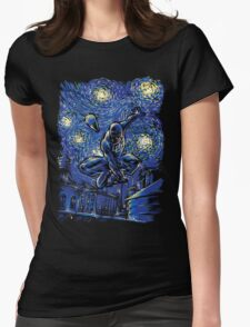 The Fearless Night Womens Fitted T-Shirt