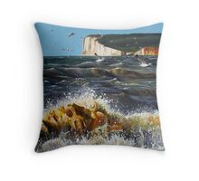 Sussex Sea Throw Pillow